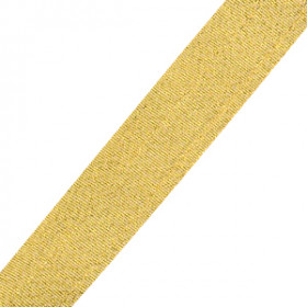 Neck Ribbon - Metallic Gold