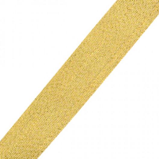 Neck Ribbon - Metallic Gold