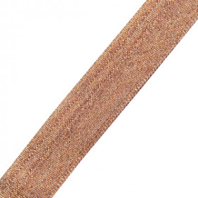 Neck Ribbon - Metallic Bronze