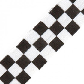 Neck Ribbon - Checkered Flag