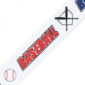 Neck Ribbon - Baseball