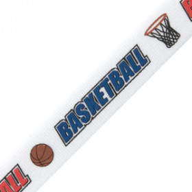 Neck Ribbon - Basketball