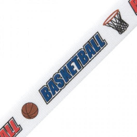 Neck Ribbon - Basketball