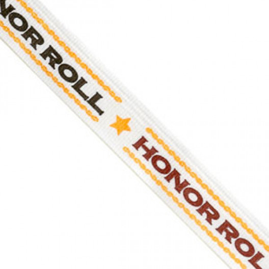 Neck Ribbon - Honor Roll