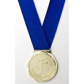 Olympic Style Neck Ribbon - Blue