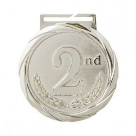 Olympic Style Medal -2nd Place