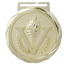Olympic Style Medal - Victory Torch