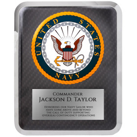 Navy Hero Plaque