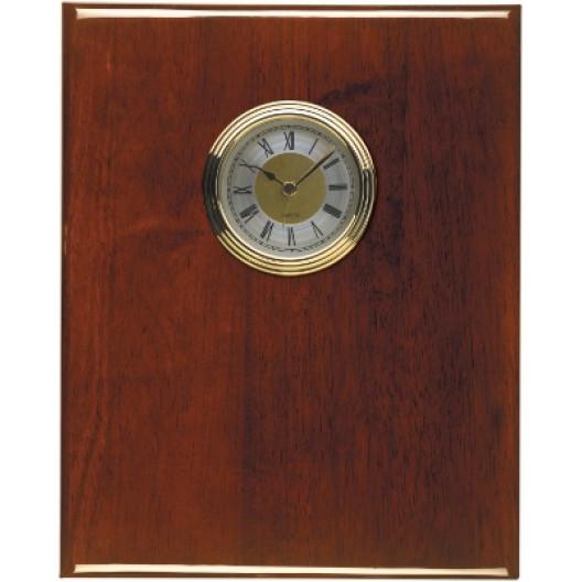Piano Finish Plaque Clocks