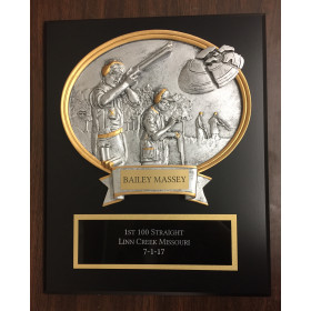Clay Shoot Plaque
