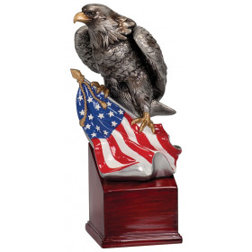 Eagle and Flag on Resin Base II
