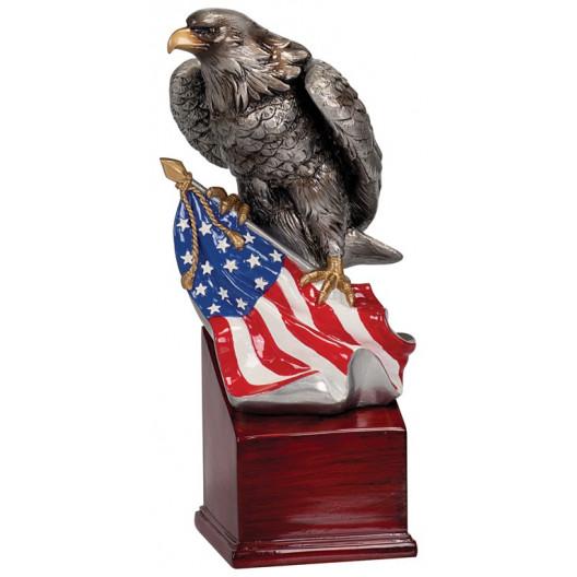 Eagle and Flag on Resin Base II