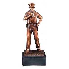 American Hero - Policeman Resin Figure