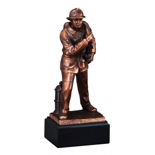 American Hero - Fireman Resin