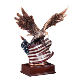 American Eagle - Full Color on Base