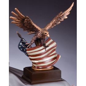 American Eagle - Full Color on Base