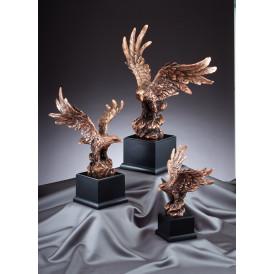 American Eagle - Perched Pose Bronze