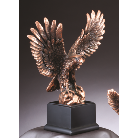 American Eagle - Perched Pose Bronze