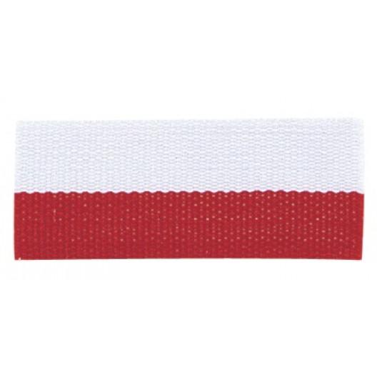 Neck Ribbon - Red & White