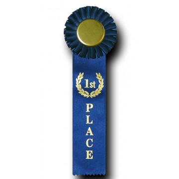 Single Rosette Ribbon - 1st Place