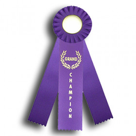 Triple Rosette - Grand Champion