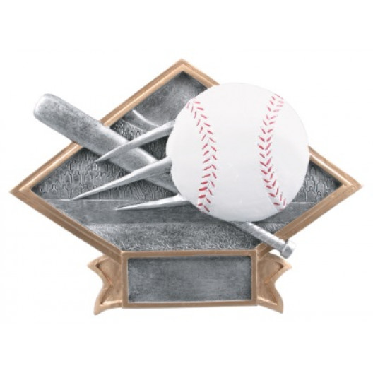 Baseball Diamond Plate Resin