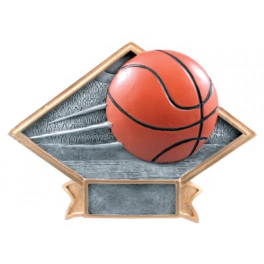 Basketball Diamond Plate Resin