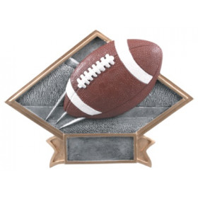 Football Diamond Plate Resin