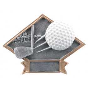 Golf Diamond Plate Resin
