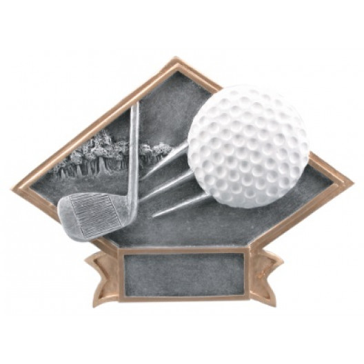 Golf Diamond Plate Resin