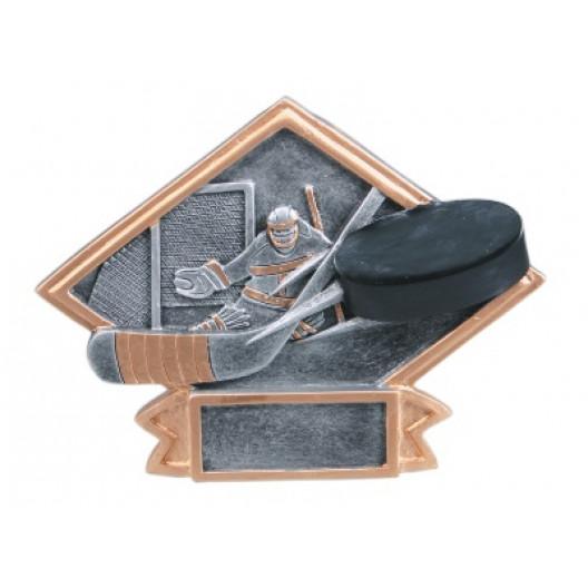 Hockey Diamond Plate Resin