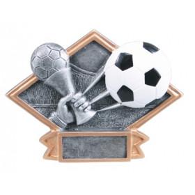 Soccer Diamond Plate Resin