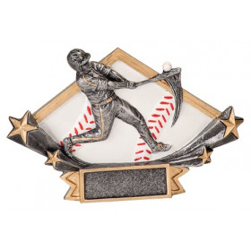 Baseball Diamond Star Resin