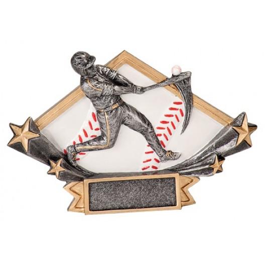 Baseball Diamond Star Resin