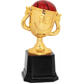 Basketball Happy Cup Trophy