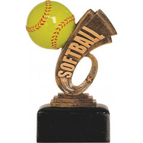 Softball Headline Resin