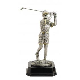 Ami Female Golfer Resin