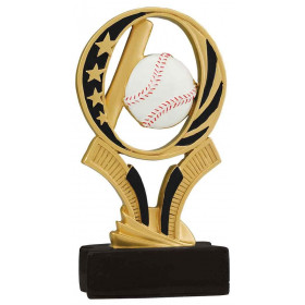 Baseball Midnite Star Resin