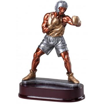 Boxer Punching Resin