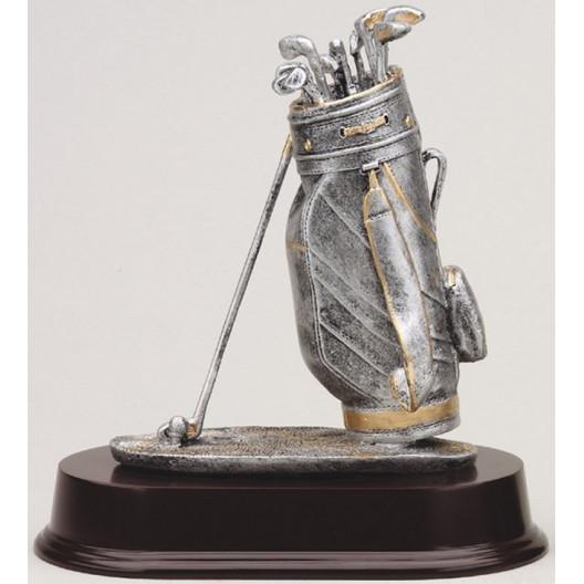 Golf Bag w/ Gold Trim