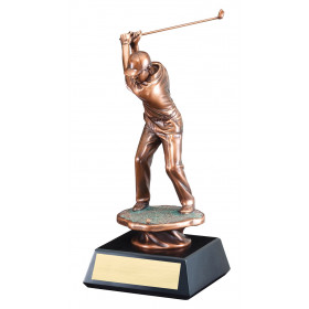 Male Golfer Drive Resin II