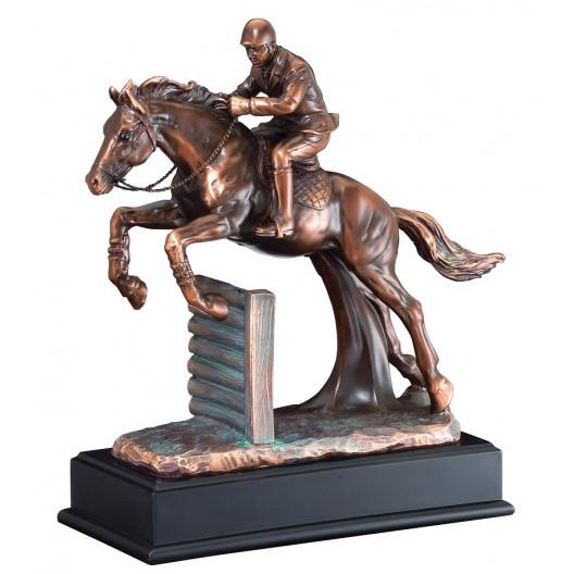 Resin Horse Jumper