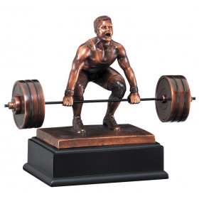 Weight Lifter Deadlift Male