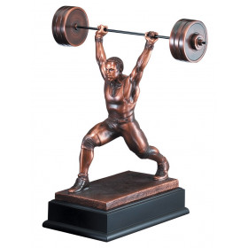 Weight Lifter Resin Male