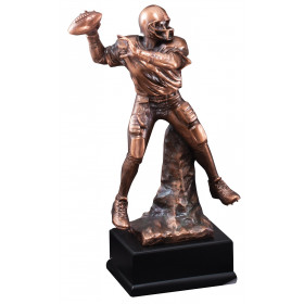 Football Quarterback Resin
