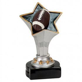 Football Rising Star Resin