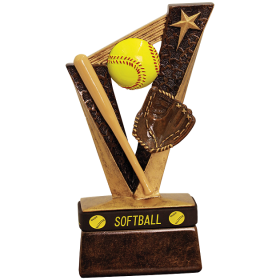 Softball Trophybands Resin