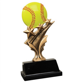 Softball Tri Star Resin
