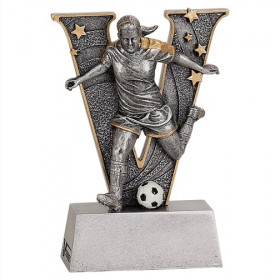 Male or Female Soccer V Series Resin