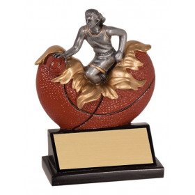 Male or Female Basketball Xploding Resin